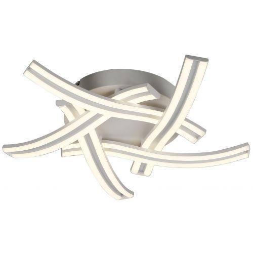 LED Flush Ceiling 5 Light Fitting White Lekki Joka LEK3135