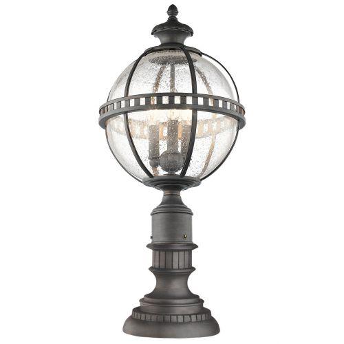 Kichler KL/HALLERON/3M Halleron 3Lt Londonderry Outdoor Pedestal Lantern