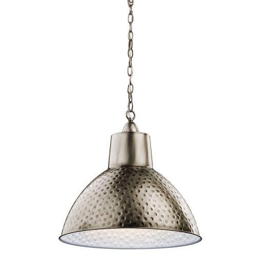 Kichler KL/MISSOULA/P/M Missoula 1 Light Antique Pewter Ceiling Pendant
