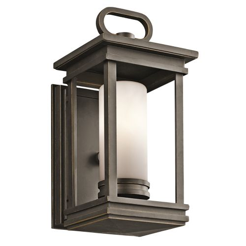 Kichler South Hope Small Wall Lantern Rubbed Bronze ELS/KL/SOUTH HOPE/S