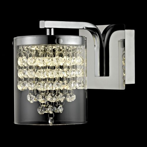 Impex LED608242/01/WB/CH Florina LED Chrome Wall Light