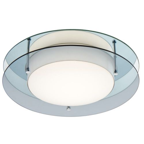 Bathroom Ceiling LED Light Fitting Smoked Mirror Lekki Bellamy LEK3031