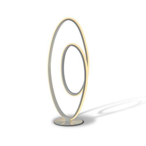 Schuller Loop 614259UK LED Table Lamp Satin White Frame