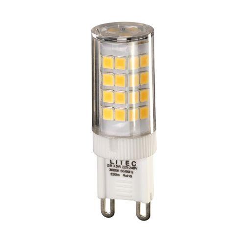 G9 Lamp Clear Plastic G9-LED-3.5W-WW-NONDIM
