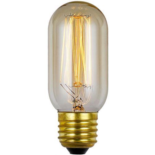Vintage Tubular E27 Bulb 60Watt Warm White 2700K Dimmable
