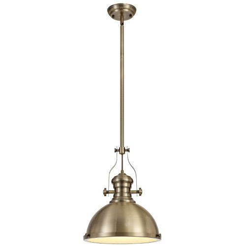 ceiling Pendant Light Fitting Antique Brass Lekki Larson LEK3163