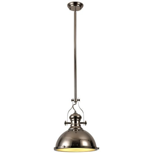 Ceiling Pendant Light Fitting Nickel Lekki Larson LEK3164
