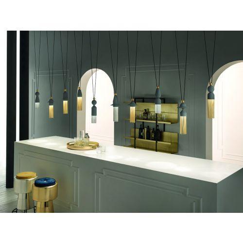 Masiero Nappe Ceiling Large Multi Pendant LED 50W 7500LM Dark GreyNAPPE-C10-V72