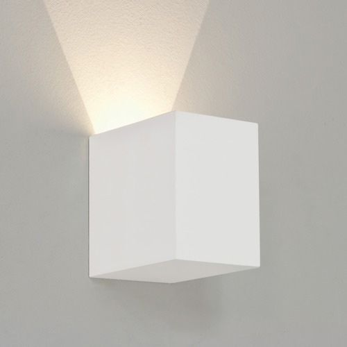 Astro Parma 100 LED 2700K Indoor Wall Light in Plaster 1187016