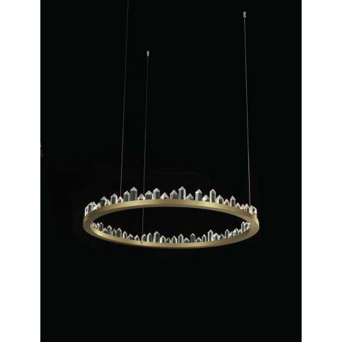 Avivo Prisma AVI/PD1801-80A LED Light Pendant Brushed Brass