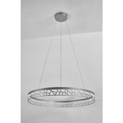 Avivo Mosaic PD18022-80-1A MW 1 Light LED Pendant Matte White Ceiling Fitting