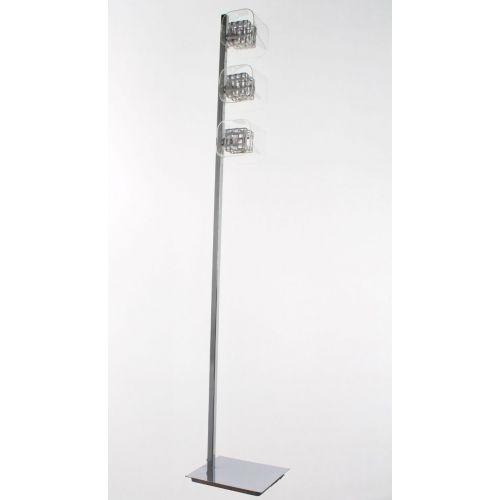 Impex Avignon PGH01515/FL/CH 3 Light Floor Lamp Chrome Fitting