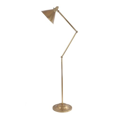 Elstead Provence PV/FL AB 1Lt Aged Brass Floor Lamp
