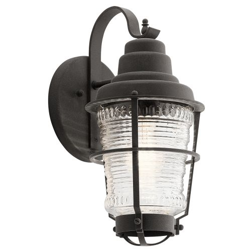 Chance Harbor Single Small Wall Lantern Weathered Zinc IP44 Quintessentiale QN-CHANCE-HARBOR-S