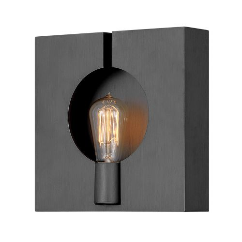 Ludlow 1 Light Wall Bracket Brushed Graphite Quintessentiale QN-LUDLOW1-GR