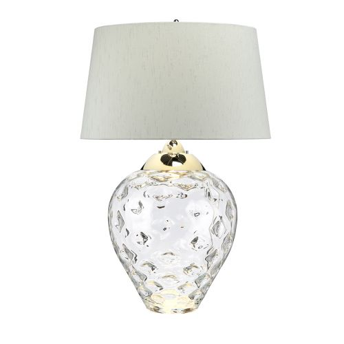 Samara Large Table Lamp Clear Glass Quintessentiale QN-SAMARA-TL-LRG-CLR
