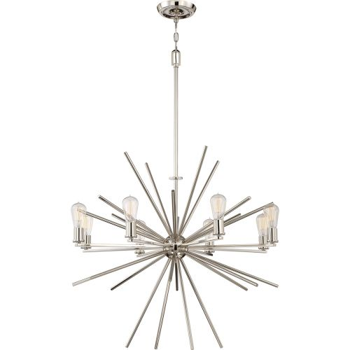 Quoizel QZ/CARNEGIE8 IS Carnegie 8Lt Imperial Silver Ceiling Pendant