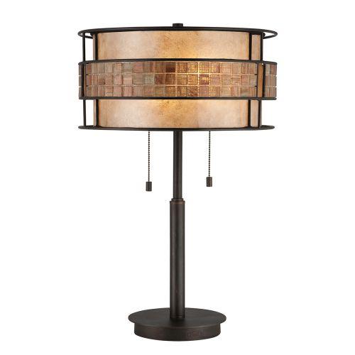 Quoizel Laguna Renaissance Copper Mosaic Table Lamp QZ/LAGUNA/TL