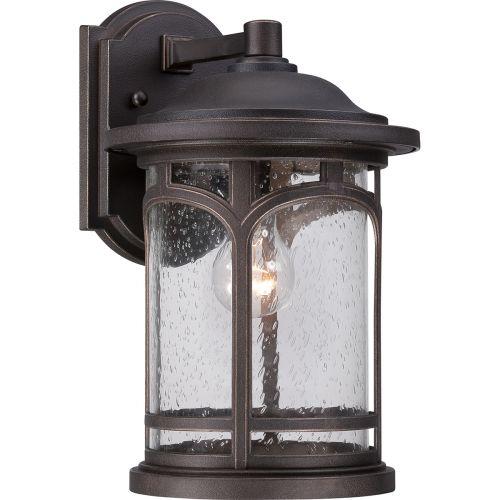 Quoizel QZ/MARBLEHEAD2/M Marblehead 1Lt Palladian Bronze Outdoor Wall Lantern