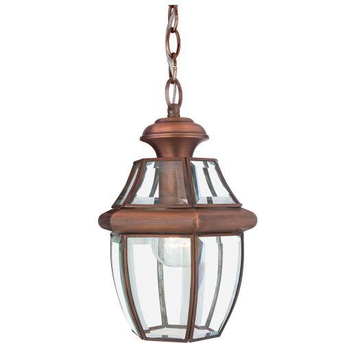 Quoizel Newbury Medium Outdoor Lantern Aged Copper QZ/NEWBURY8/M AC