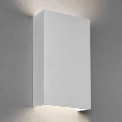 Astro Rio 190 LED 2700K Indoor Wall Light in Plaster 1325006
