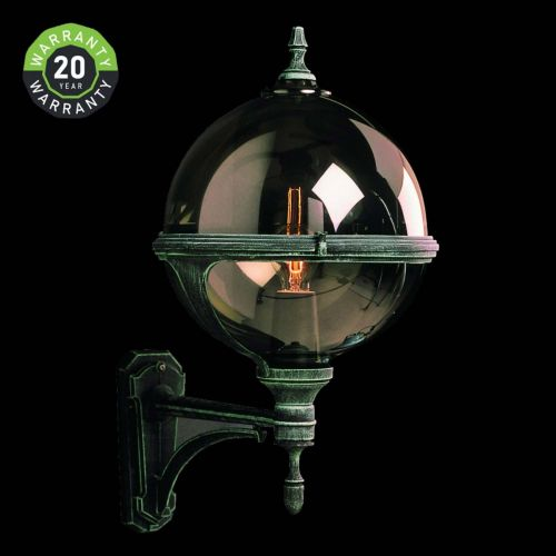 Noral Roulette III A Outdoor Wall Light Lantern NOR/776310 20 Year Warranty