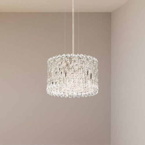 Schonbek Sarella Pendant Fitting Stainless Steel Heritage Crystal RS8345E-401H