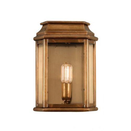 Elstead Solid Brass Outdoor Wall Lantern ELS/ ST MARTINS BR