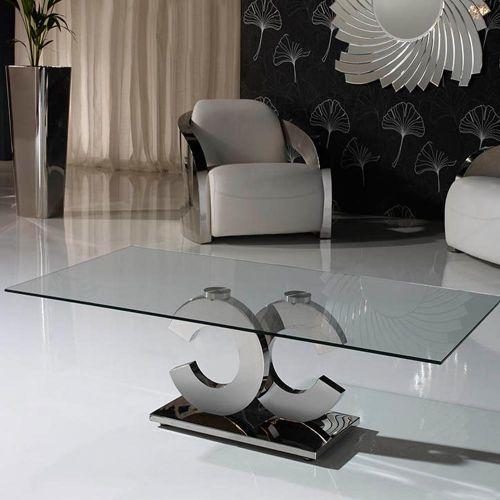 Anisa Coffee Table Stainless Steel REG/190950