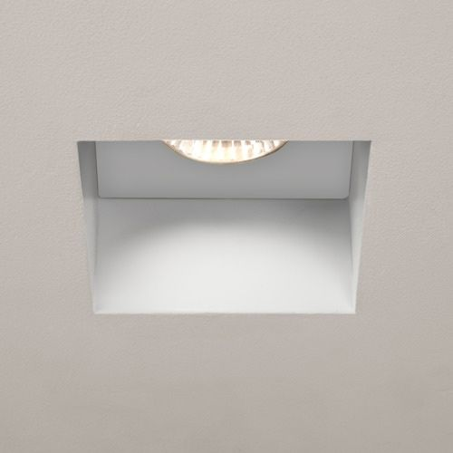 Astro Trimless Square Fire-Rated LED Indoor Downlight in Matt White 1248012