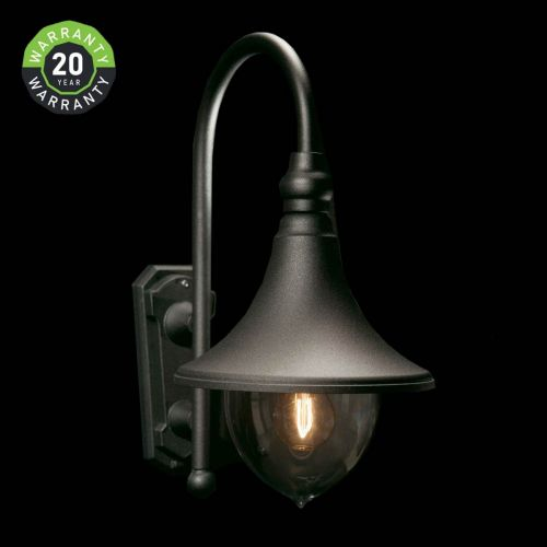 Noral Trumpet F Outdoor Wall Light Lantern NOR/785311 20 Year Warranty