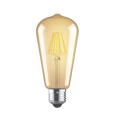 Vintage E27 LED Bulb 6.5Watt Extra Warm White 2200K Dimmable