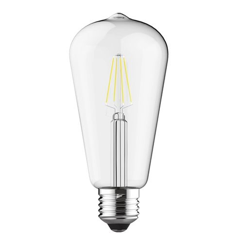 Vintage E27 LED Lamp 6.5W Warm White 2700K Dimmable