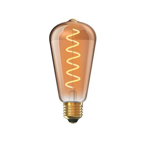 Vintage E27 LED Bulb 5Watt Extra Warm White 1800K Dimmable