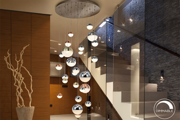 Choosing Stairwell Chandeliers