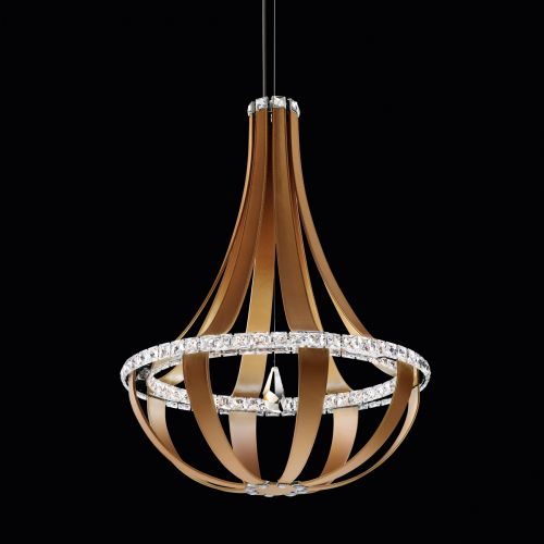 Swarovski Crystal Empire Led Pendant Fitting Chinook Clear Crystals SCE121DE-LC1S