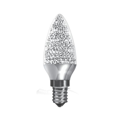 Kaleido Crystal Candle LED Lamp 3.5W SES / E14 Cap Dimmable Daylight