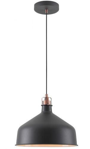 Ceiling Pendant Light Fitting Sand Black Copper White Lekki Blake LEK3047