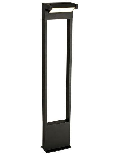 Tall Outdoor LED Post Lekki Lark Graphite Black LEK3159