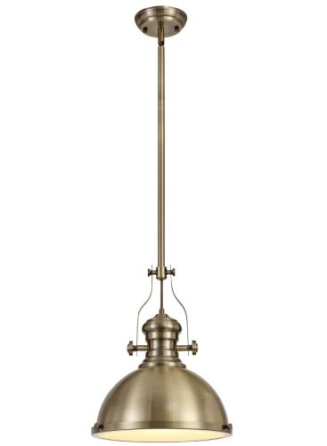 ceiling Pendant Light Fitting Antique Brass Lekki Larson LEK3163
