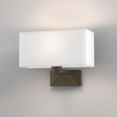Astro 1405002 Carmel Single Wall Light Bronze Frame