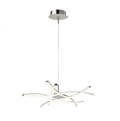 Mantra M5912 Aire LED Extra Large Ceiling Pendant Polished Chrome Frame
