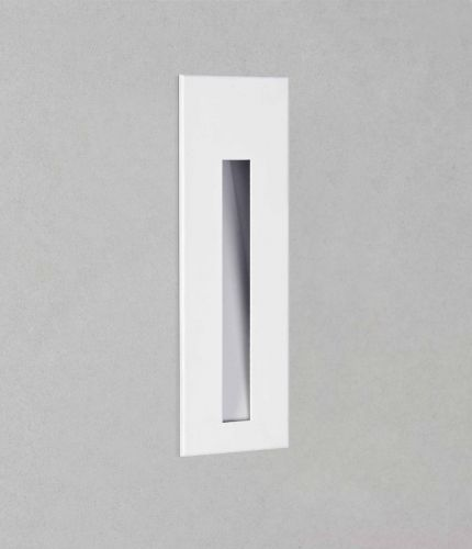 Astro 1212045 Borgo 55 LED Recessed Wall Light Matt White Frame