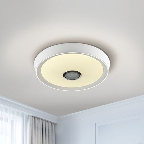 Schuller Jazz 851472 LED Flush Fitting Built-In Speaker with Remote
