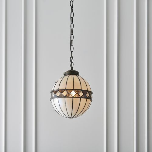 Interiors 1900 Tiffany Fargo Small Globe Pendant 67044