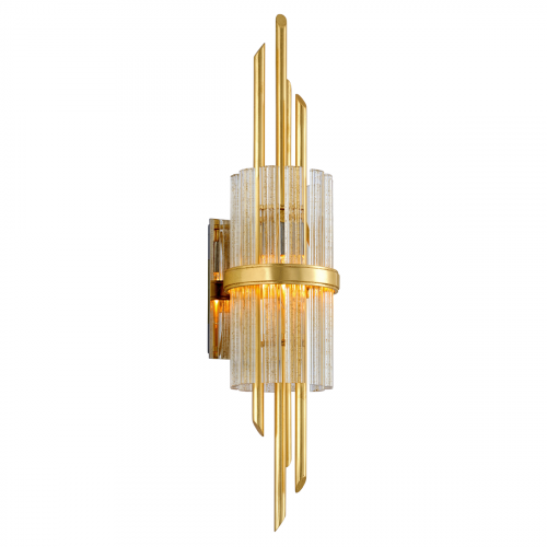 Wall Light Gold Leaf Corbett Symphony 257-12-CE