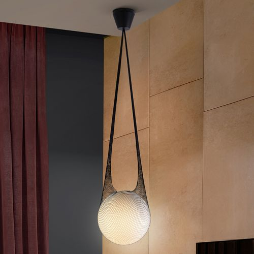 Schuller Globe 352918 Small Spherical Single Glass Pendant