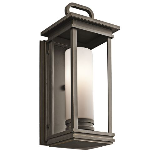 Kichler South Hope Medium Wall Lantern Rubbed Bronze