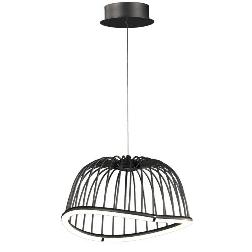 Mantra M6685 Celeste Small Ceiling LED Black Pendant