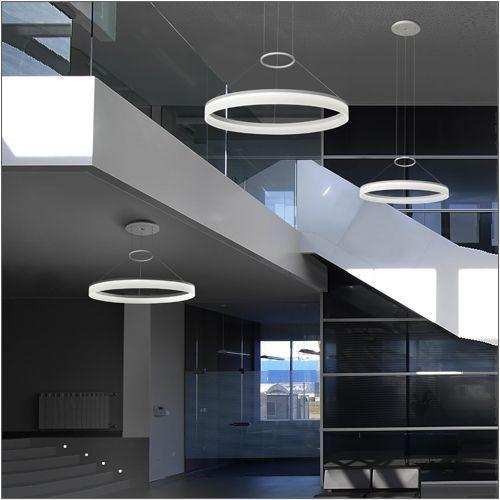 Grok Circ Dimmable Designer LED Pendant 00-0642-BW-M3